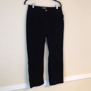 Kate Hill 6 Petite Cord Jeans in Navy